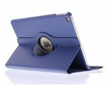 Donkerblauw 360° draaibare tablethoes iPad Air 2