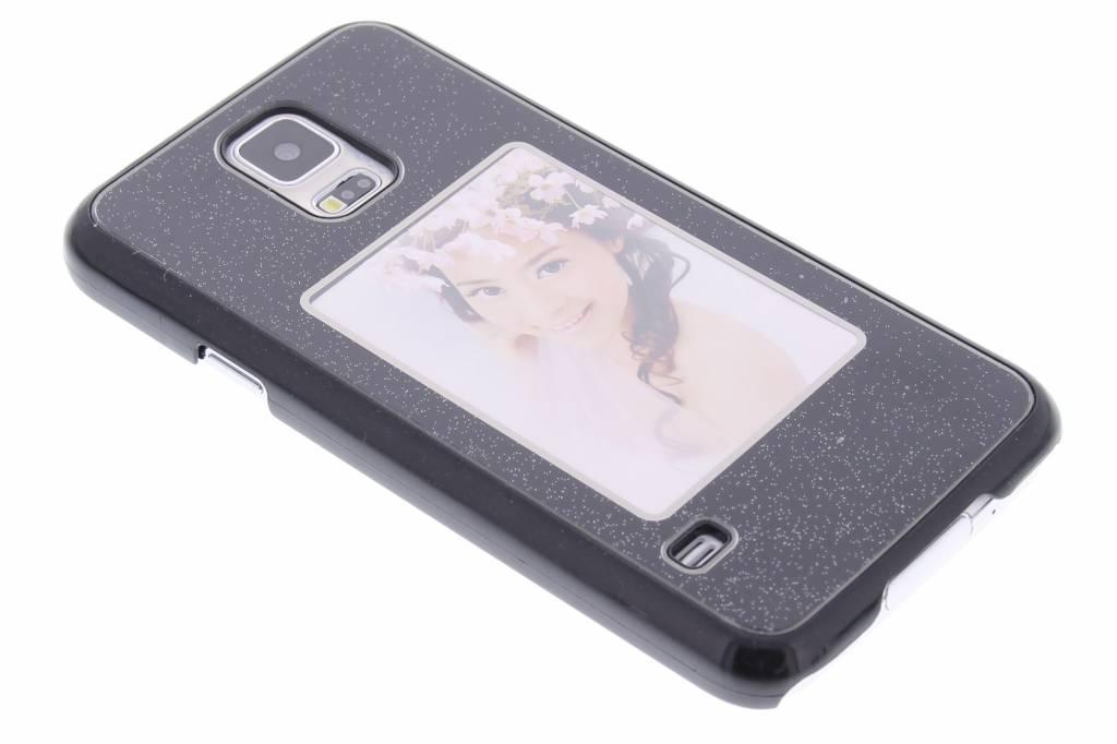 Zwarte fotolijst hardcase voor de Samsung Galaxy S5 (Plus) / Neo
