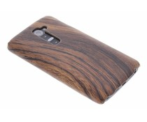 Hout design hardcase hoesje LG G2