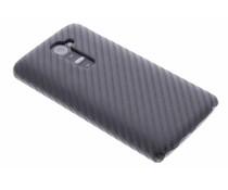 Zwart carbon look hardcase hoesje LG G2