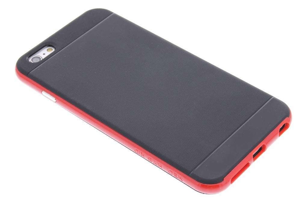 Rode TPU Protect Case voor de iPhone 6(s) Plus