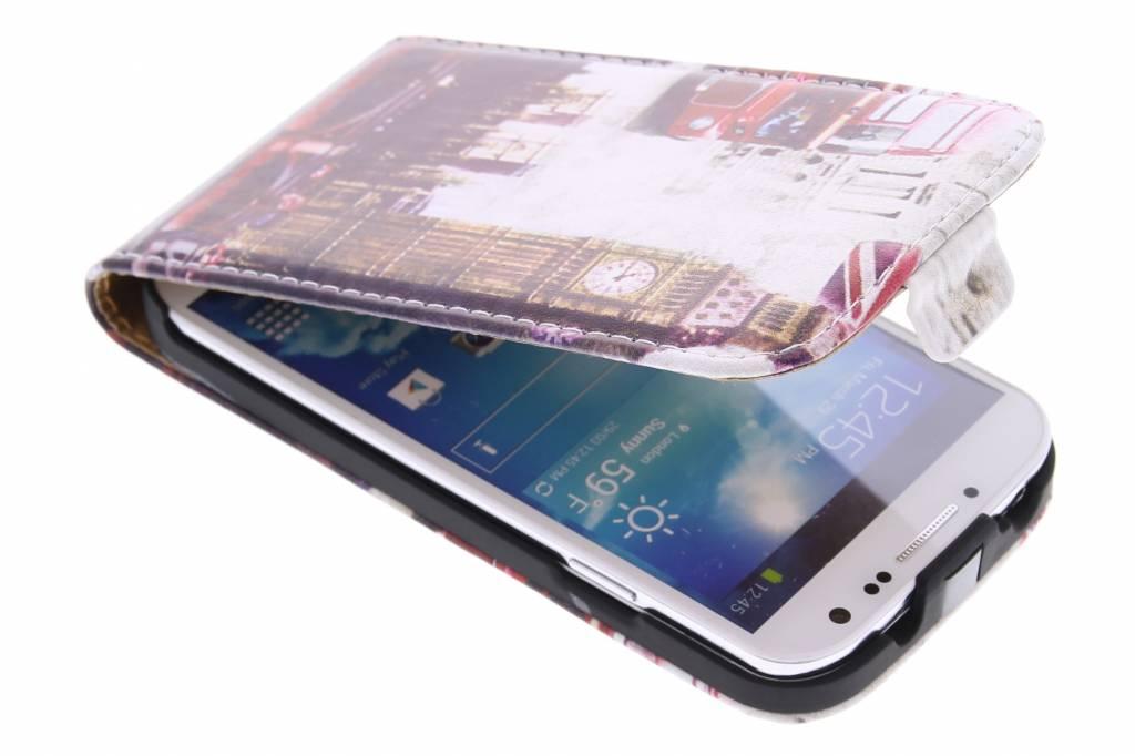 Big Ben design flipcase voor de Samsung Galaxy S4