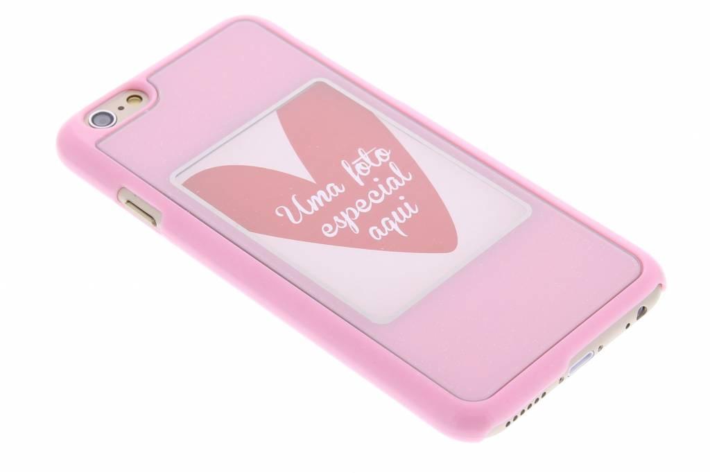 Roze fotolijst hardcase voor de iPhone 6 / 6s