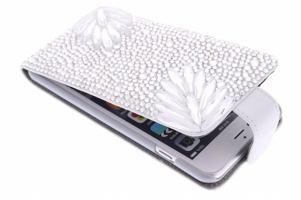 Glazen strass flipcase voor de iPhone 6(s) Plus