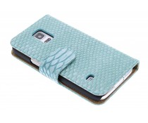 Slangen booktype hoes Samsung Galaxy S5 Mini
