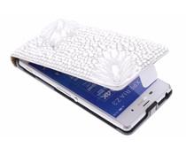 Luxe glazen strass flipcase Sony Xperia Z3