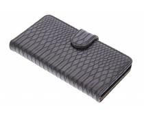 Zwart slangen booktype hoes Samsung Galaxy A5