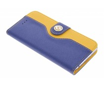 Celly Onda Wallet Case iPhone 6 / 6s - blauw/geel