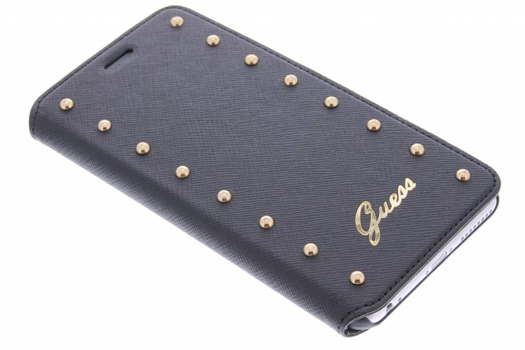 Guess Folio Studded Collection Apple iPhone 6 Plus Zwart