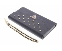 Guess Studded Wallet Clutch Case iPhone 6(s) Plus - Zwart