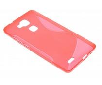 Rood S-line TPU hoesje Huawei Ascend Mate 7