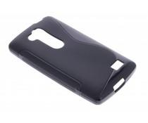 Zwart S-line TPU hoesje LG L Fino / L70 Plus