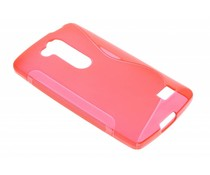 Rood S-line TPU hoesje LG L Fino / L70 Plus
