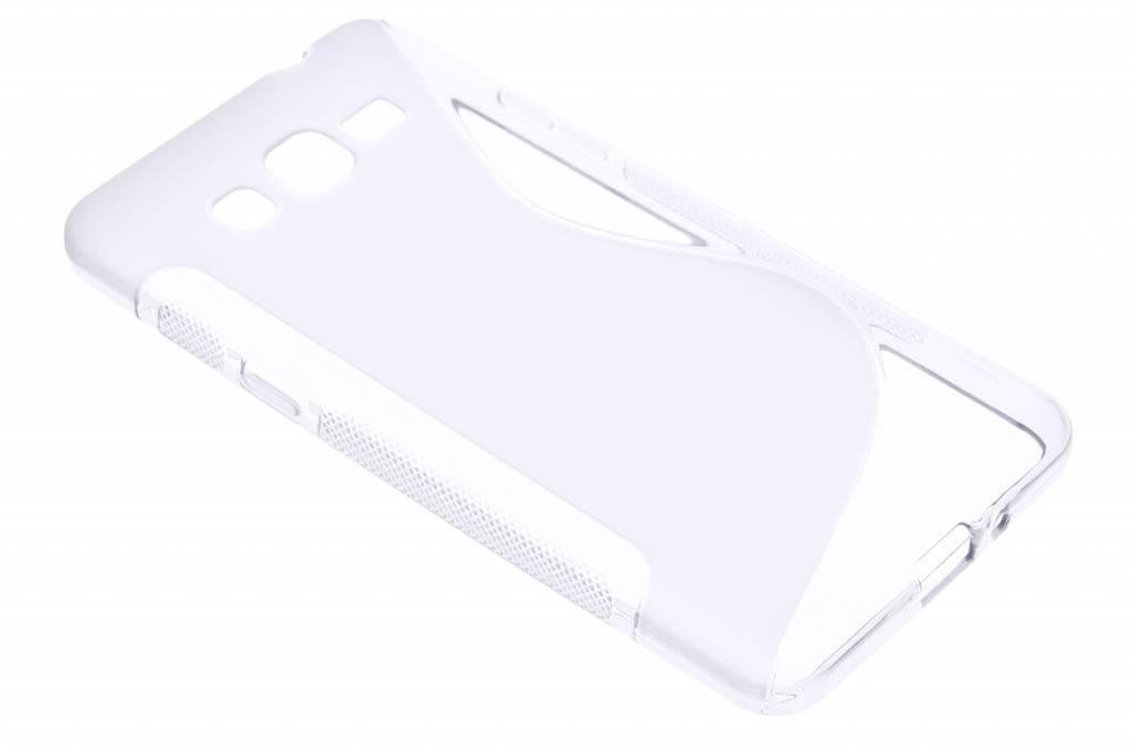 Transparant S-line TPU hoesje voor de Samsung Galaxy Grand Prime