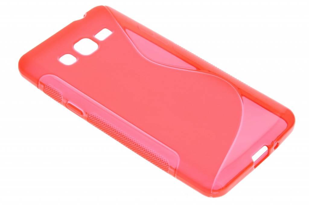 Rood S-line TPU hoesje voor de Samsung Galaxy Grand Prime