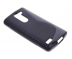 Zwart S-line TPU hoesje LG L Bello / L80 Plus