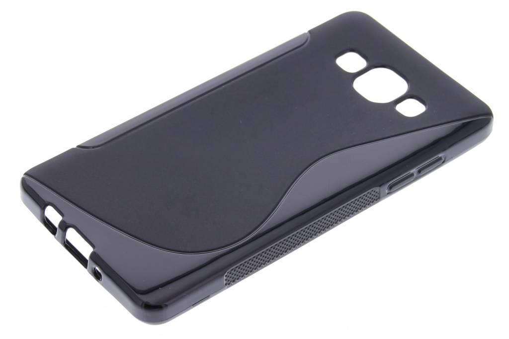 Le Cas De Tpu Ligne De Noir Pour Samsung Galaxy A5 zyyfaLAm