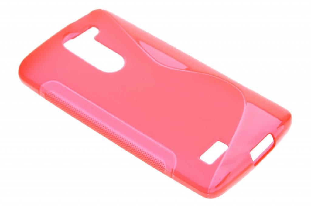 Rood S-line TPU hoesje voor de LG L Bello / L80 Plus