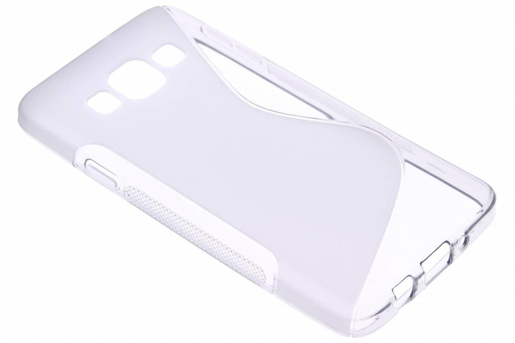 Grijs S-line TPU hoesje voor de Samsung Galaxy A3