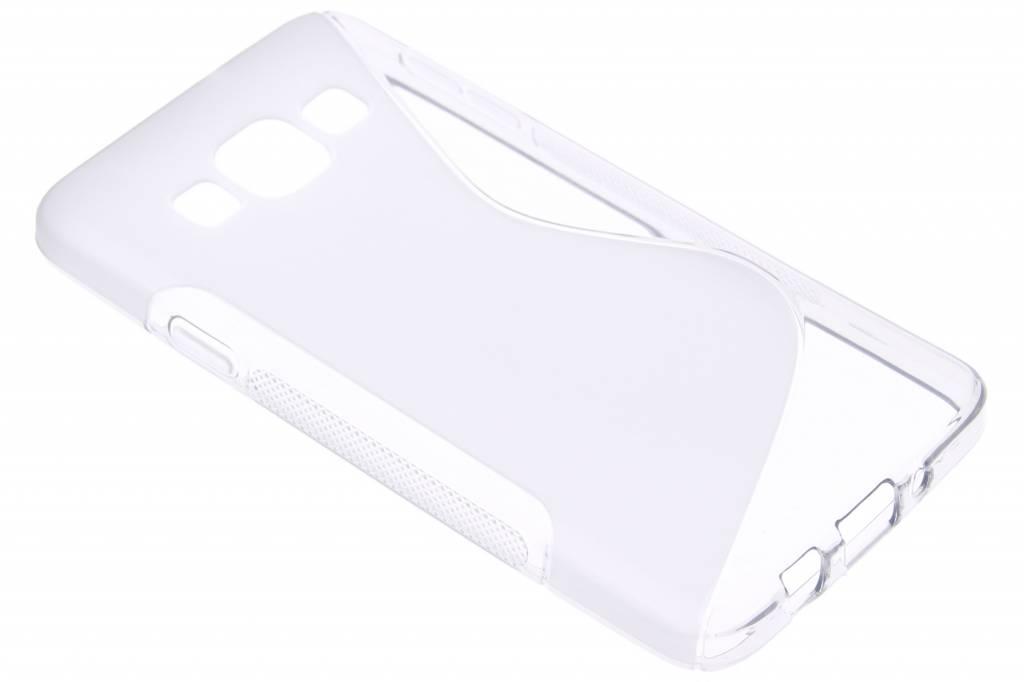 Transparant S-line TPU hoesje voor de Samsung Galaxy A3