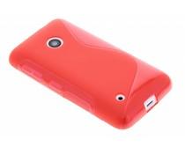 Rood S-line TPU hoesje Nokia Lumia 530
