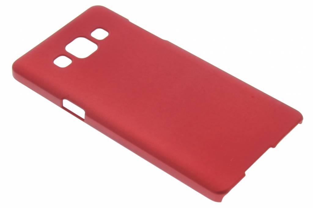 Rood effen hardcase hoesje voor de Samsung Galaxy A5