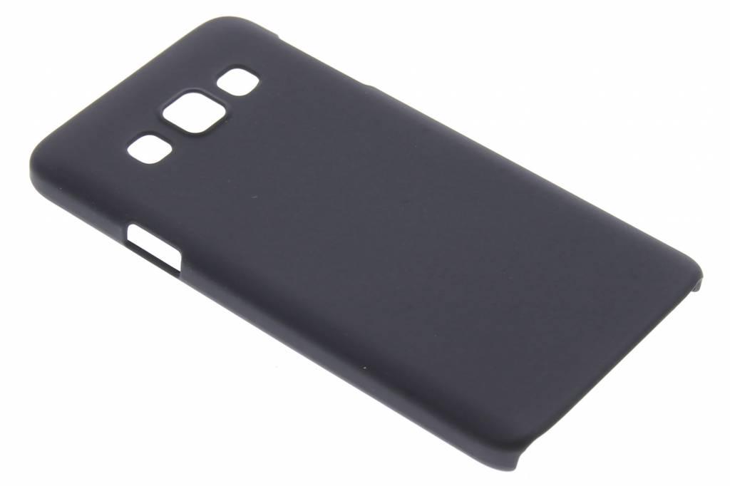 Zwart effen hardcase hoesje voor de Samsung Galaxy A3