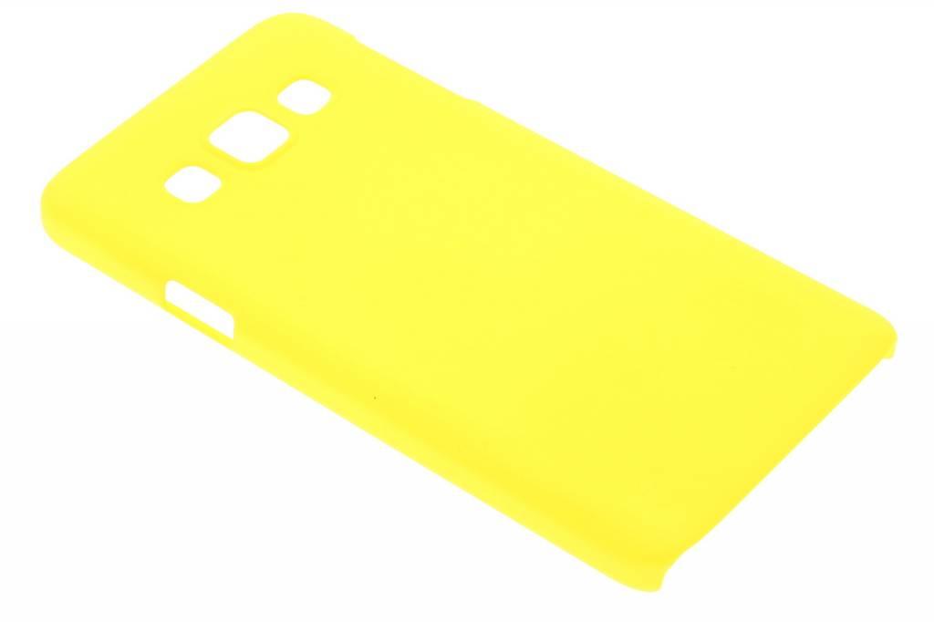 Geel effen hardcase hoesje voor de Samsung Galaxy A3