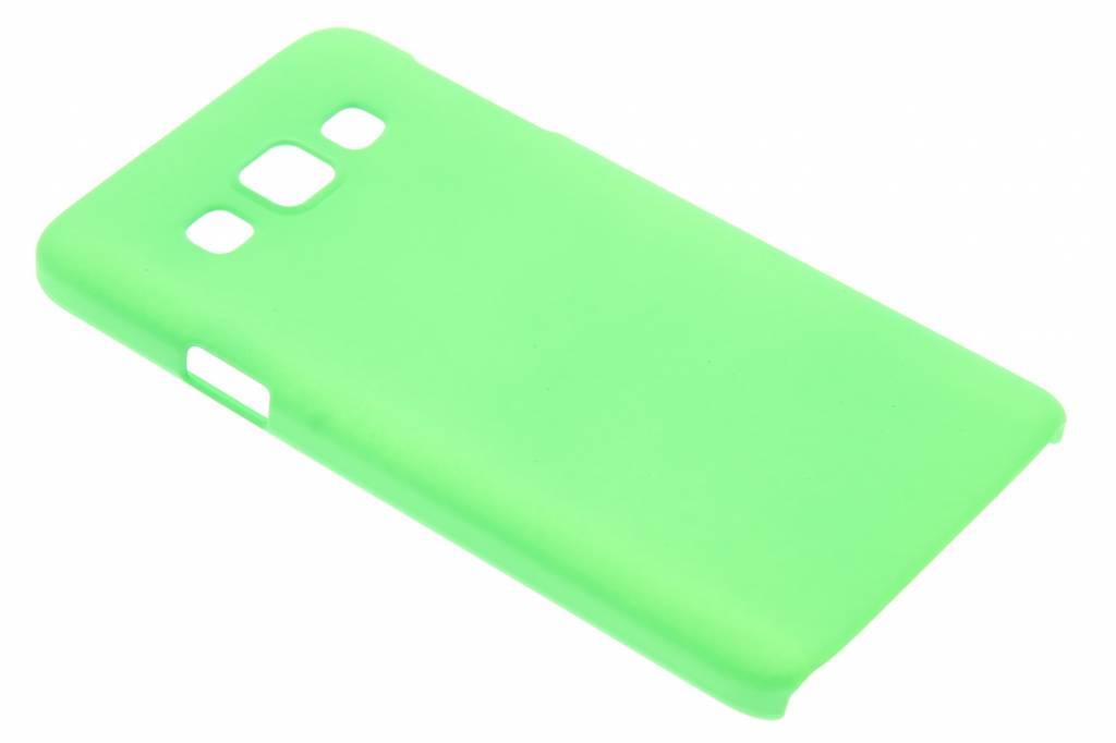 Groen effen hardcase hoesje voor de Samsung Galaxy A3
