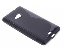 Zwart S-line TPU hoesje Microsoft Lumia 535