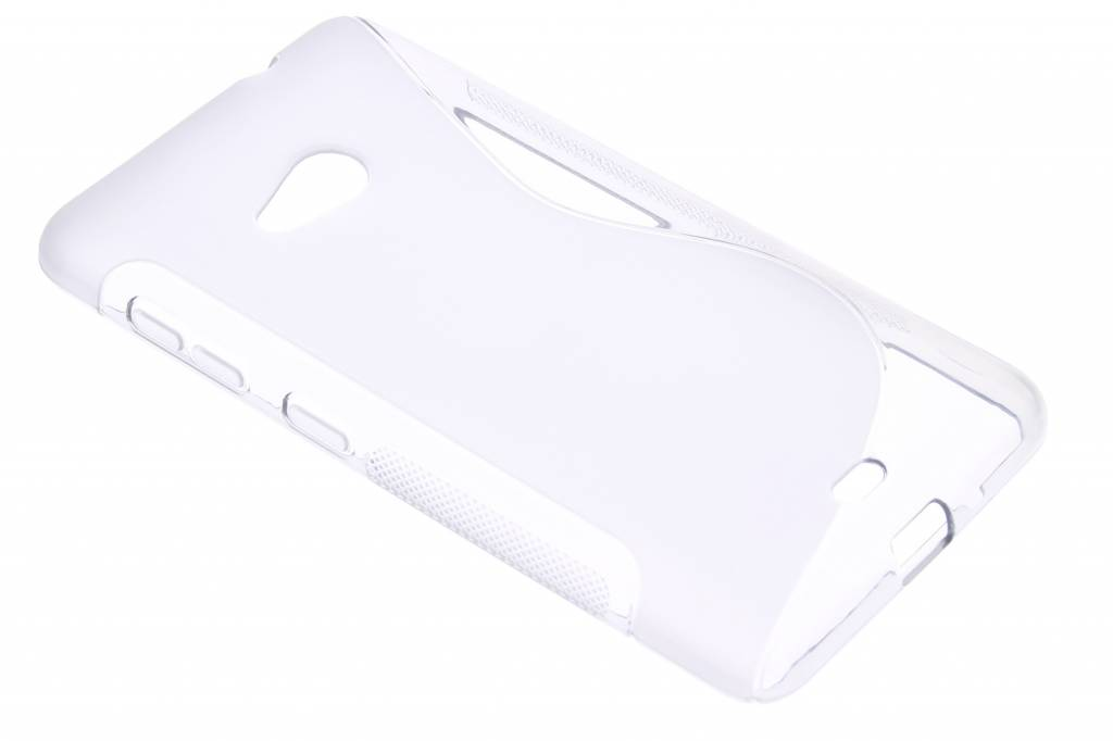 Transparant S-line TPU hoesje voor de Microsoft Lumia 535