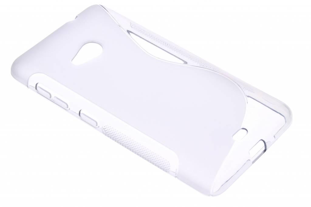 Grijs S-line TPU hoesje voor de Microsoft Lumia 535