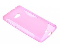 Rosé S-line TPU hoesje Microsoft Lumia 535