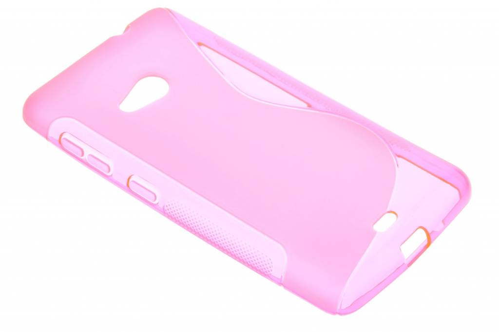 Rosé S-line TPU hoesje voor de Microsoft Lumia 535