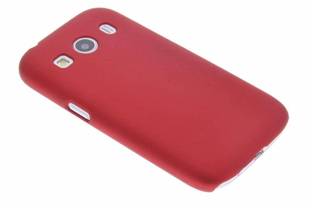 Rood effen hardcase hoesje voor de Samsung Galaxy Ace 4