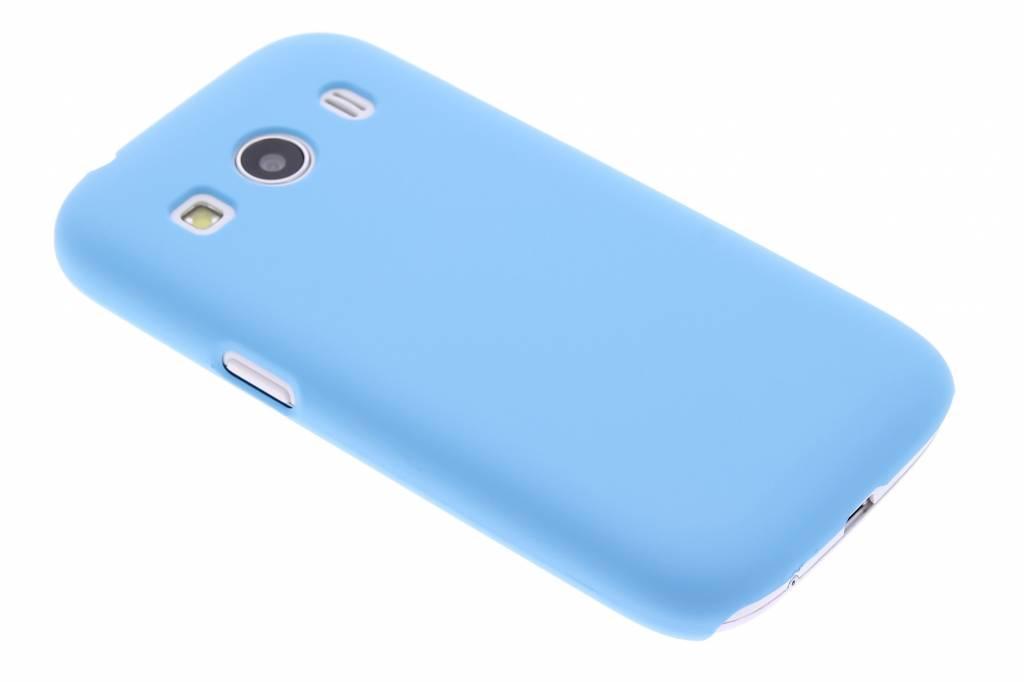 Turquoise effen hardcase hoesje voor de Samsung Galaxy Ace 4