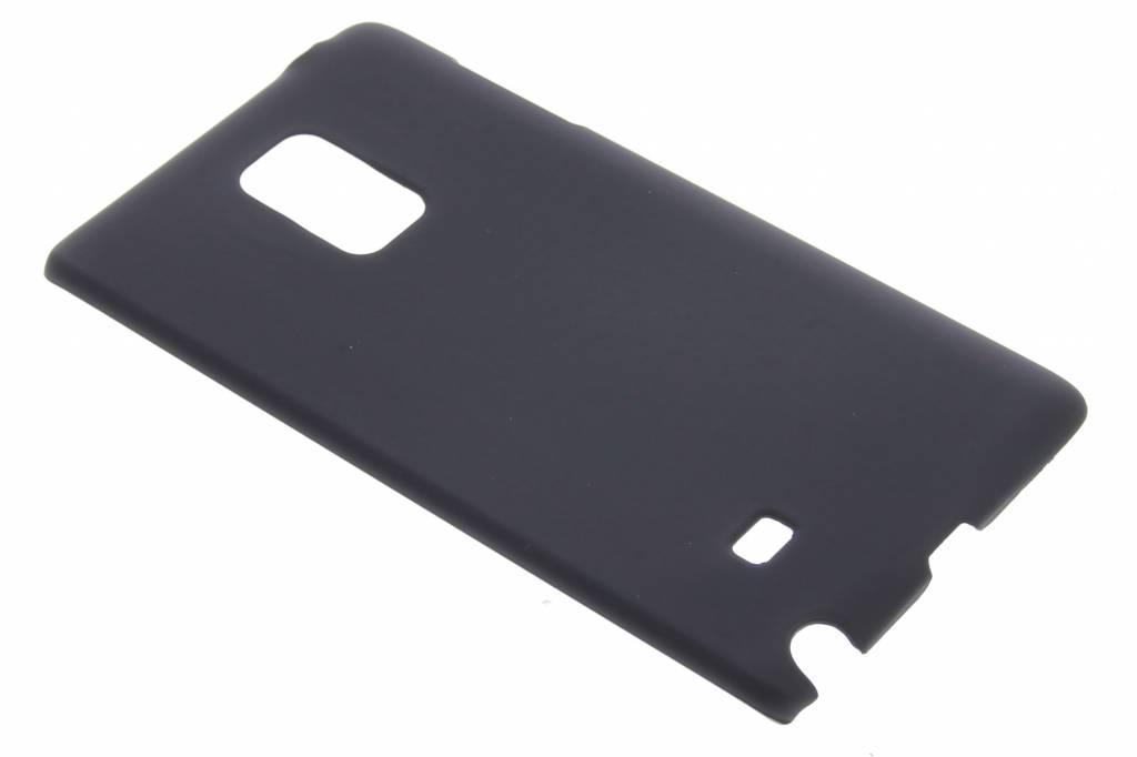 Zwart effen hardcase hoesje voor de Samsung Galaxy Note Edge