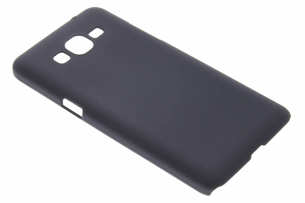 Zwart effen hardcase hoesje voor de Samsung Galaxy Grand Prime