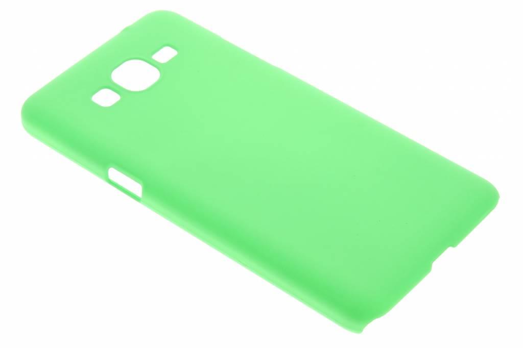Groen effen hardcase hoesje voor de Samsung Galaxy Grand Prime