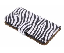 Zebra booktype hoes Samsung Galaxy Note 3 Neo