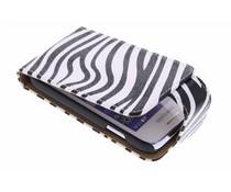 Zebra flipcase Samsung Galaxy Young 2