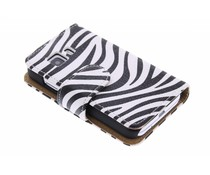 Zebra booktype hoes Samsung Galaxy Young 2