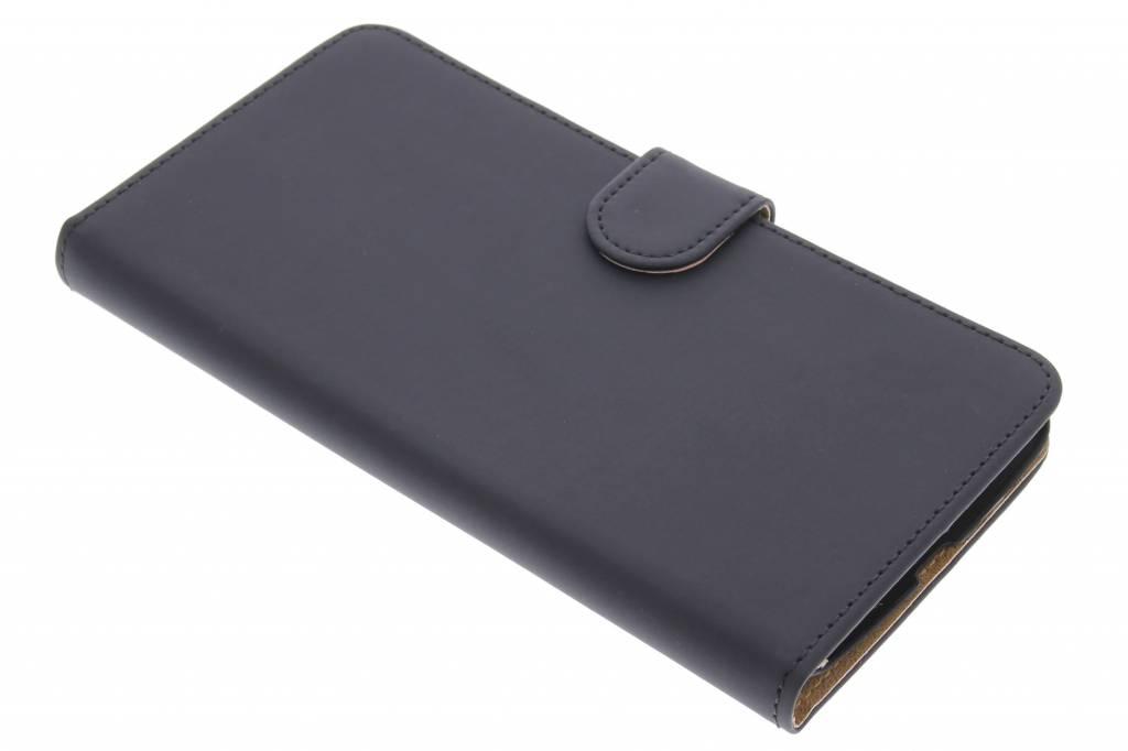 Zwarte effen booktype hoes voor de Motorola Nexus 6