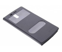 Zwart luxe slim booktype hoes OnePlus One