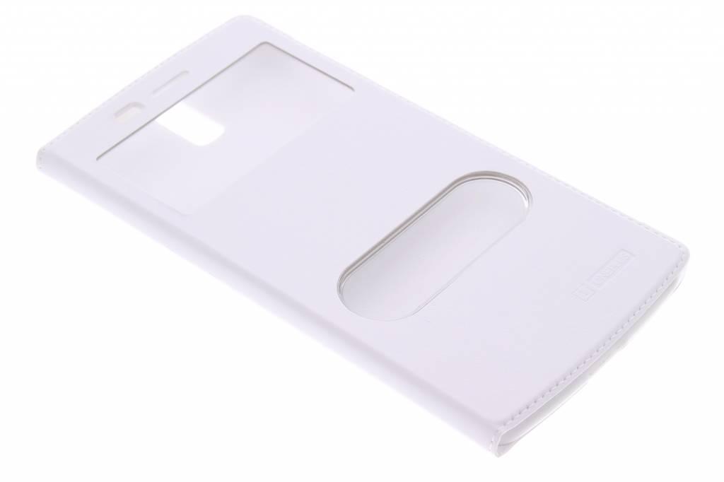 Witte luxe slim booktype hoes voor de OnePlus One