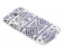 Design TPU siliconen hoesje Samsung Galaxy S4 Mini
