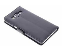 Zwart luxe booktype hoes Samsung Galaxy A5