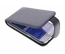 Zwart stijlvolle flipcase Samsung Galaxy Ace 4
