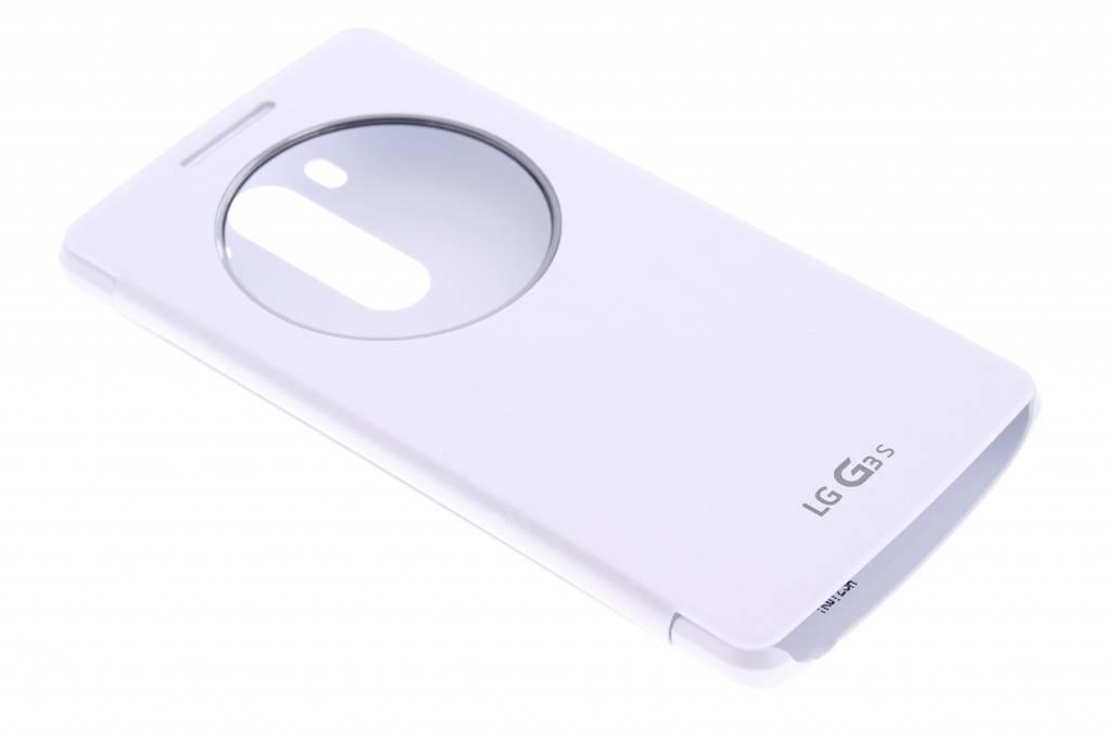 LG Quick Circle Case voor de LG G3 S - wit