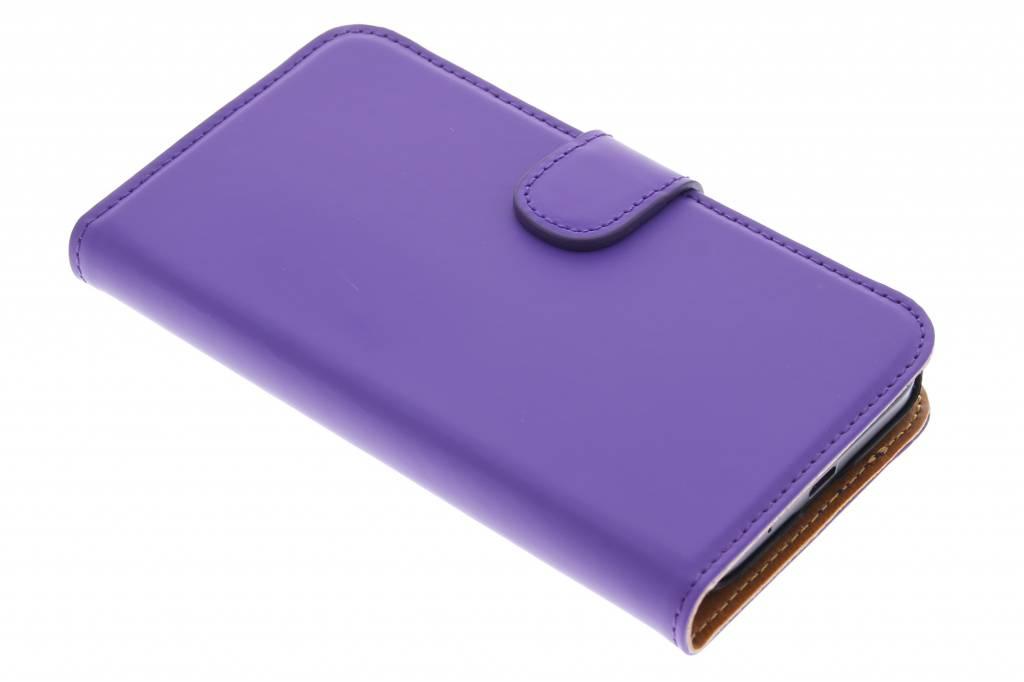 Mobiparts Premium Wallet Case voor de Huawei Ascend Y550 - Purple